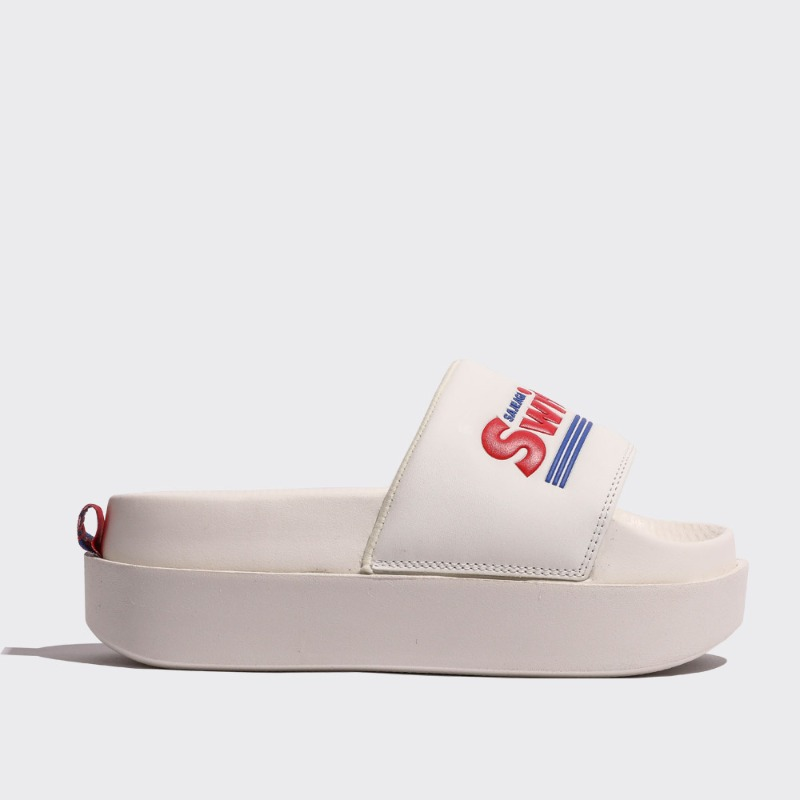 SWITMARKET DOUBLE SLIDE - WHITE